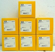 Lot of 7 Hubbell HBL5279 2 Pole 3 Wire Grounding 15A 125V Flanged Receptacle K5