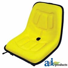 Universal Yellow High Back Seat LGS100YL Fits Compact Tractors, Mowers