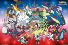 POKEMON - MEGA EVOLUTIONS POSTER - 22x34 - 14863
