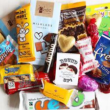 Vegan Treat Box - A Fantastic Hamper of Vegan Chocolate & Sweets - Xmas / Gift