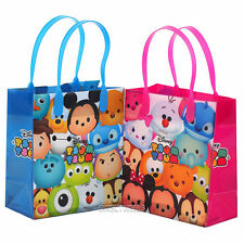 12 Disney Tsum Tsum Small Party Favor Goodie Goody Candy Birthday Toy Gift Bags