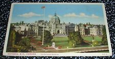 The Parliament Buildings, Victoria B.C. Postcard Canada