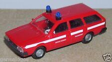 MICRO IMU HO 1/87 VW VOLKSWAGEN PASSAT FEUERWEHR FIRE SERVICE INCENDIE POMPIERS