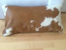 Neue Kissenhüllen aus natürliches Kuhfell 30cm x 60cm. Vip-Leather