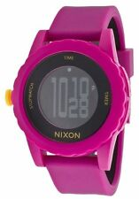Authentic Nixon The Genie Pink Sports Watch. NEW IN BOX, RRP $169.95.