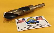 """Drill Hog USA 1"""" Drill Bit 1"""" Silver & Deming Bit Cobalt HSS Lifetime Warranty"""