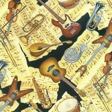NUTEX PATCHWORK FABRIC - MUSIC TO MY EARS - 88430 - 102