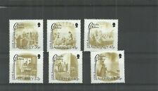ALDERNEY-2012-200TH ANNIVERSARY OF CHARLES DICKENS SET -MNH