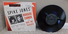SPIKE JONES Murders Carmen and Kids  RCA VICTOR RECORD Excellent LPM 3128
