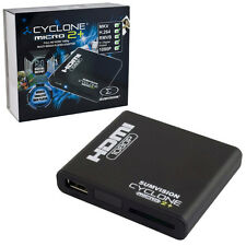 NEW SUMVISION CYCLONE MICRO 2+ PLUS HD MKV RM SD USB AVI MULTI MEDIA PLAYER HDMI