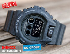 G-SHOCK BRAND NEW WITH TAG GD-X6900HT-1 BLACK Digital Resin Band WATCH
