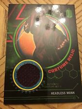 Topps Doctor Who Extraterrestrial 2016 Green Costume 355/499 Headless Monks Robe