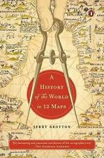 NEW - A History of the World in 12 Maps by Brotton, Jerry
