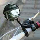 1pc Bike Bicycle Handlebar Flexible Rear Back View Rearview Mirror Black CC