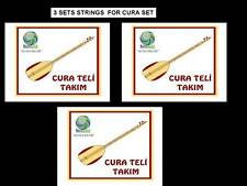 3 x STRING SET FOR TURKISH STRING SMALL SIZE CURA SAZ NEW !!!!!!