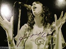Patty Smith signed 11x14 photo with Proof