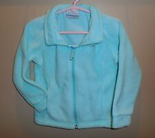 New Girls Size 4T COLUMBIA Berrey Ranch Fleece Jacket Coat Candy Mint Nwt