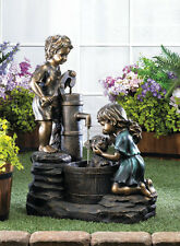 DOGGY WASH ELECTRIC WATER PUMP FOUNTAIN GARDEN CHILDREN & PUP~10017064