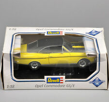 Revell Diecast Car Model 1/18 Scale Yellow Opel Commodore GS/E w Original Box