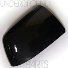 METALLIC PANTHER BLACK SIDE DOOR WING MIRROR COVER CAP CASE CASING RIGHT DRIVERS