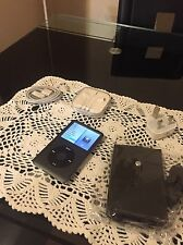 Apple iPod Classic 7th Generation Black 512GB SDXC with Accessories.