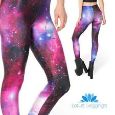 Lotus Leggings Galaxy Printed Leggings LARGE/Ladies/Women's/Cosmos/Universe/NEW
