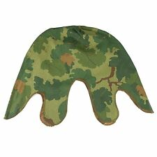 EARLY TO MID Vietnam War US military Mitchell Reversible Helmet Cover Color Camo