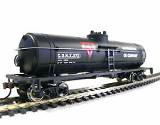 HO Scale Model Railroad Trains Layout Walthers Conoco Oil Tanker Car 931-1614