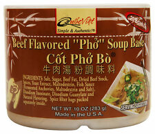 "Quoc Viet Beef Flavored ""PHO"" Soup Base Vietnamese Asian Cuisine (10 oz)"