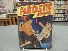 Vintage Pulp Fantastic Novels March 1950 Vol. 3 Number 6 Ray Cummings Max Brand