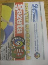 06/09/2013 Romania v Hungary [Gazeta Sporturilor Newspaper Edition] (folded).  A