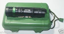 Police 50000W GD-109 LED Flashlight Zoomable With Case,Battery 18650 & Charger