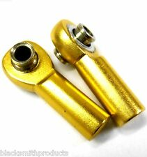 06048 106017 1/10 Alloy Track Rods Ends RC Nitro Gold Left Right 1 Set M4