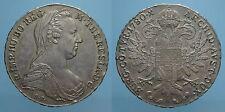 AUSTRIA MARIA TERESA RARO TALLERO 1780 (ca1935) VIENNA SPL
