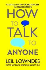 How To Talk To Anyone by Leil Lowndes NEW