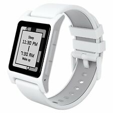 NEW Pebble 2 + Heart Smartwatch for Apple or Android WHITE Smart Time Watch