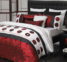 New Logan & Mason Oriental Kimono Super King Size Quilt / Doona Cover Set Ultima