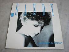 *** Histoires d'Amour *** Sandy  - 1989 - 33T