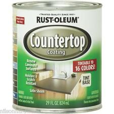 2-RustOleum 29 Oz Tint Base Satin Laminate Countertop Coating Kit 246068