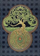 Celtic Tree of Life Tapestry - Fine Woven -  Irish, Scottish, Yggdrasil