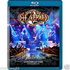 DEF LEPPARD: VIVA HYSTERIA BLU-RAY -  AUTHENTIC US RELEASE
