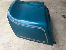 OEM teal green rear fender cowl from 1979 SUZUKI GS550 motorcycle