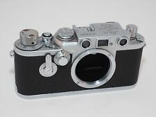Leica IlIF SELF TIMER red dial Rangefinder camera uses Leica  Screw Mount Lenses