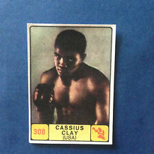 Album campioni dello sport 1968/69 N°308 Cassius Clay removed from the album