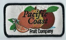 Pacific Coast Fruit Company advertising patch 2-1/2X4-1/2 Portland, OR #1122