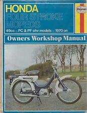 HONDA PC50 & PF50 MOPED ( 1970 - 1978 ) OWNERS WORKSHOP MANUAL