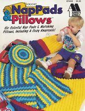 Annie's Attic NapPads Nap Pads & Pillows Knapsack Crochet Leaflet 878402