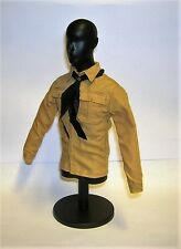 DID 1/6th Scale WW2 German Hitler Youth Shirt & Black Scarf - Dan