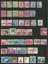 Ryukyu Islands, Almost Complete, With Seventeen (17) Extras, Used.