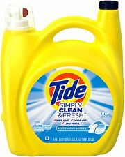 Tide Simply Clean and Fresh Refreshing Breeze Laundry Detergent 89 Loads